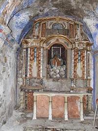 Altar de la iglesia de Santa María