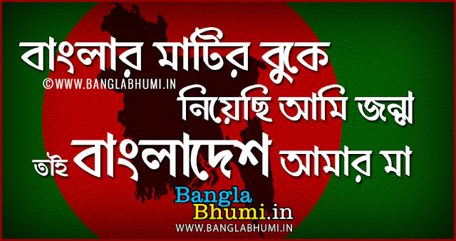 Bangladesh Bijoy Dibos Image in Bengali