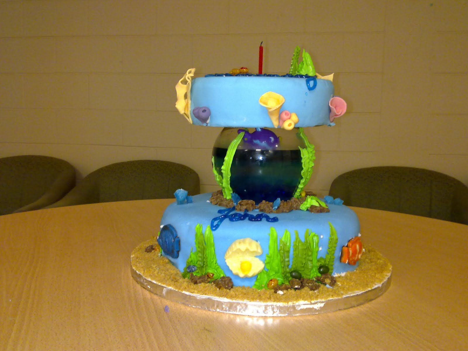 The Baking Frog Under The Sea Cake