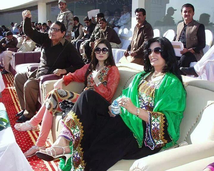 Gul Panra and Naghma