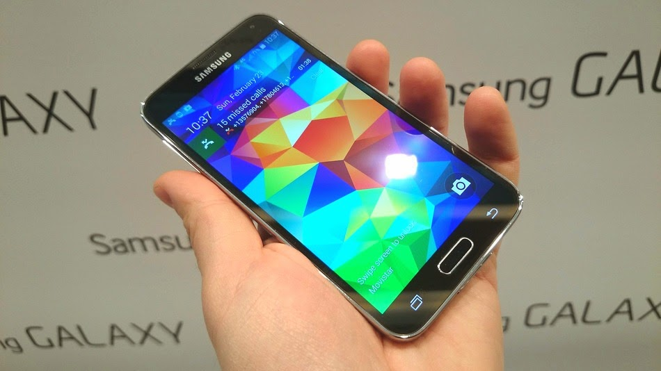Samsung Galaxy S5 Smartphone Images And Features