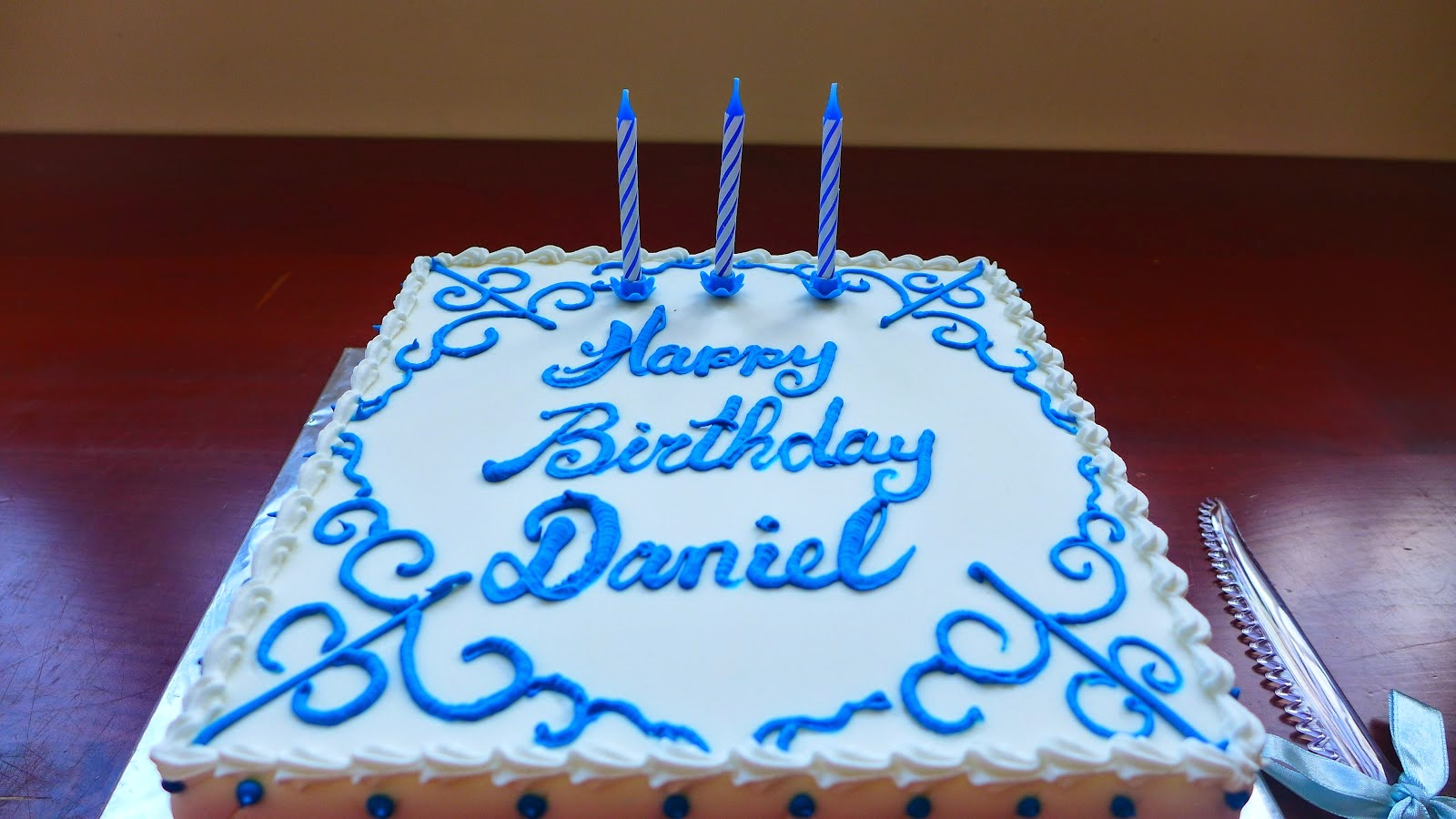 What I Learned from Daniel : The Blog: Happy Eighteenth ...