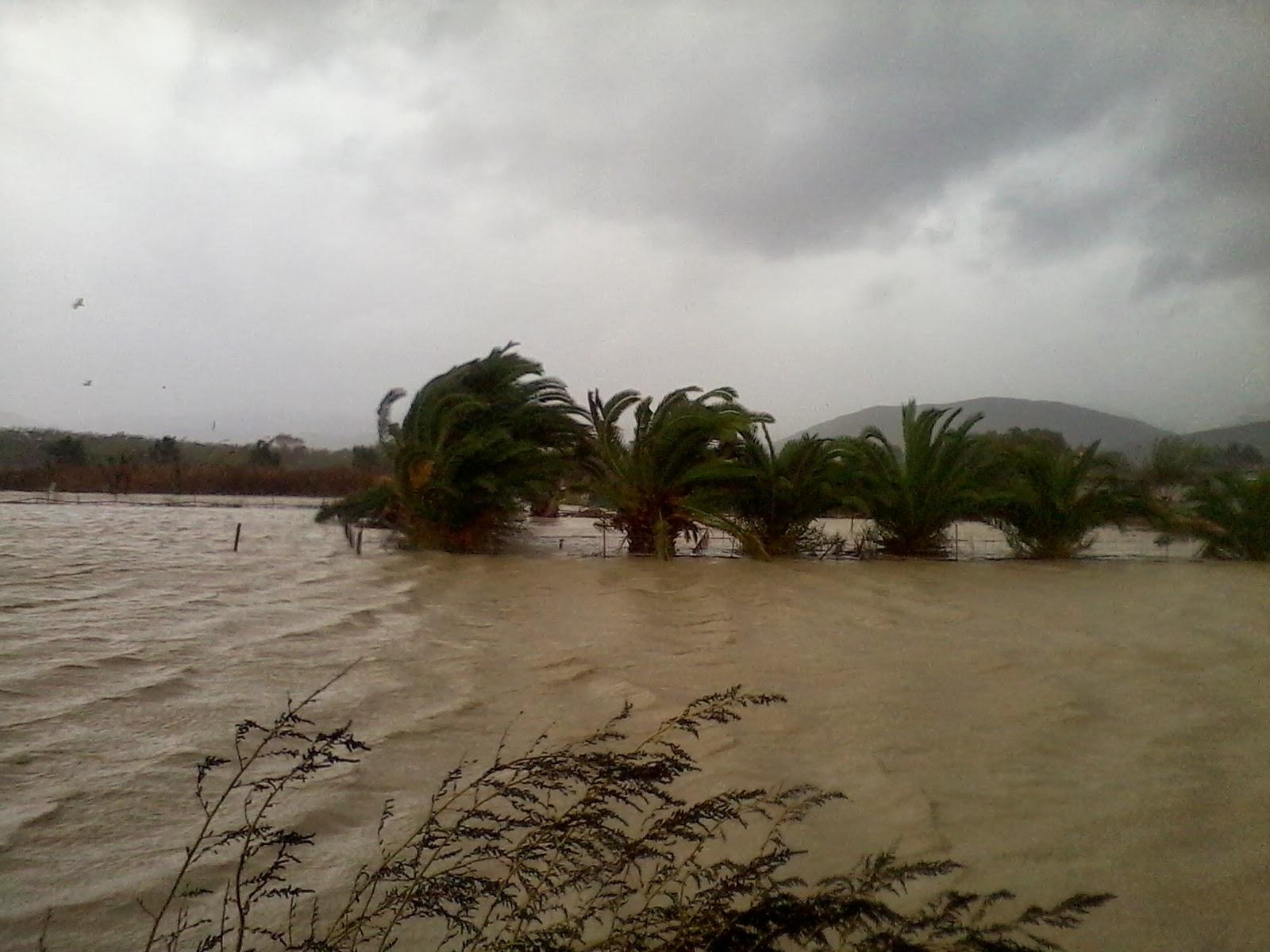 наводнение на Крите