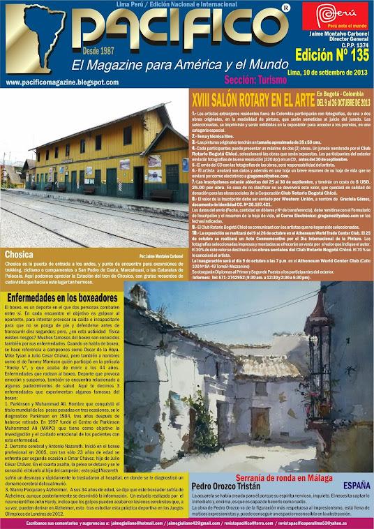 Revista Pacífico Nº 135 Turismo
