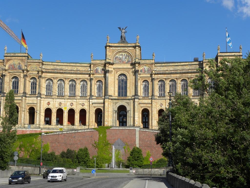 Maximilianeum in Munich struck me 1
