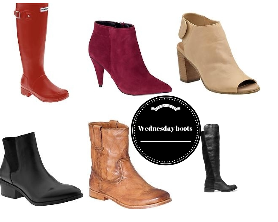 Wednesday coffee: Fall boots