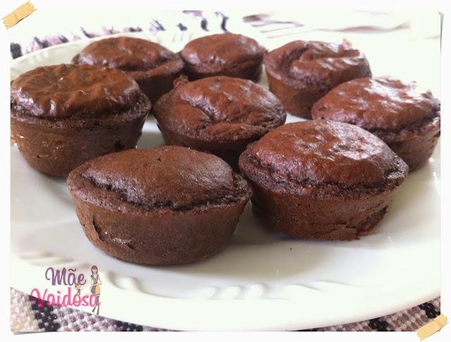 Muffins de Chocolate Dukan