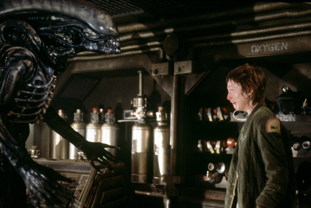 movie analysis of alien 1979 cinematography To the cinema audiences of 1979, the alien was an unfathomable monster but to ash, it is a creature of 'purity' – a role model he eventually comes to emulate in an attempted copycat killing, ash forces a rolled-up magazine down ripley's throat.