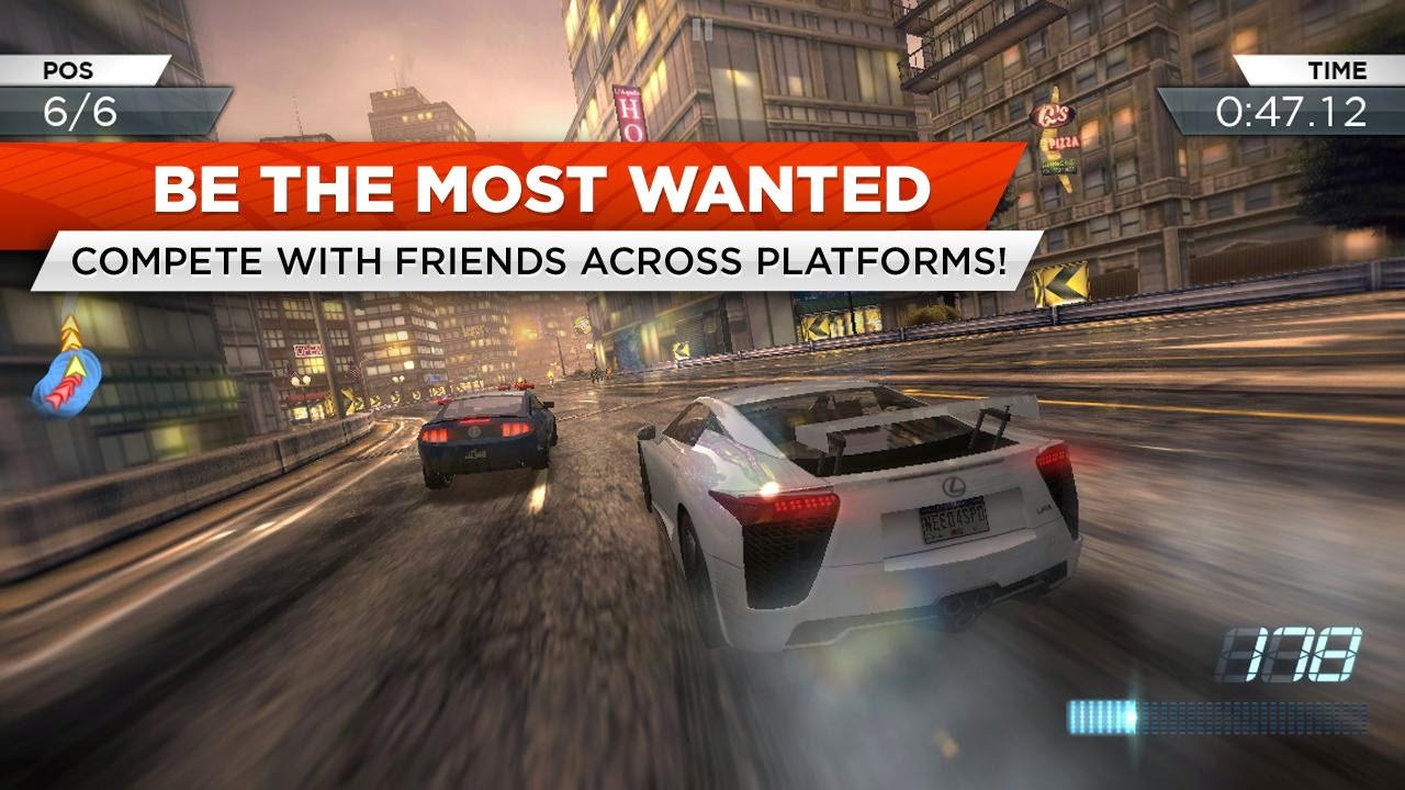 Free Download Game Need for Speed Most Wanted .APK Full Data