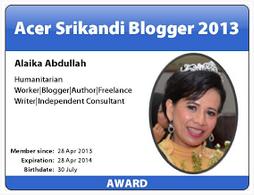 Hadiah Terindah Dari Ngeblog