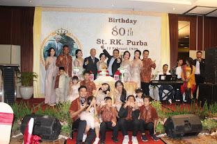 Ibadah Syukuran HUT 80 St RK Purba Pakpak