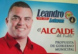 La propuesta municipal de Leandro Lebrón