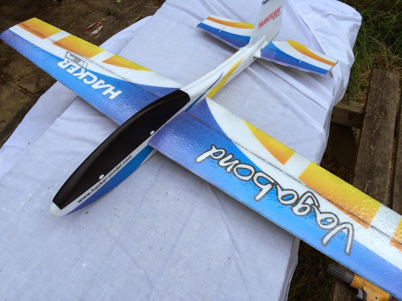 Hacker Vagabond RC Glider