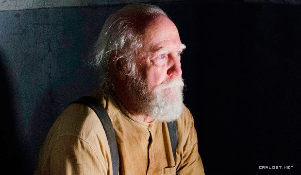 Hershel (Scott Wilson) en The Walking Dead 4x05 Internment