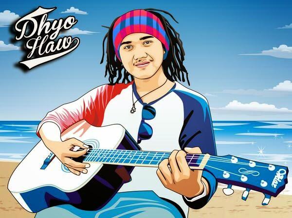 Lirik Dan Kunci Gitar Dhyo Haw - Dibalik Hari Ini