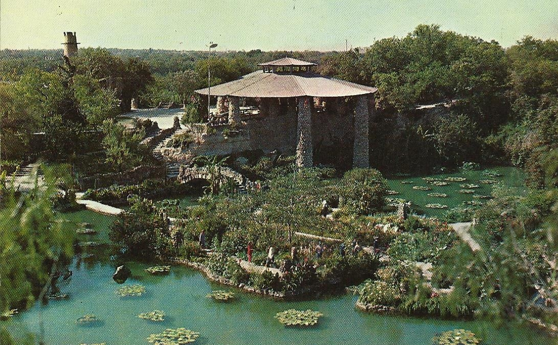 Vintage Travel Postcards San Antonio Texas
