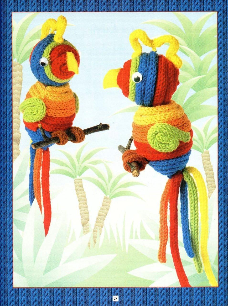como fazer papagaio em crochet