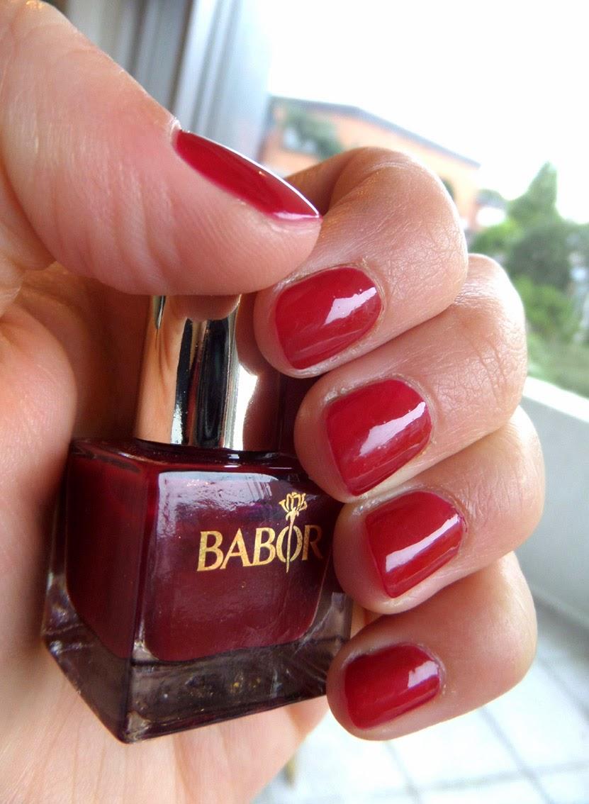 [Nagellack] Babor - burgundy 06