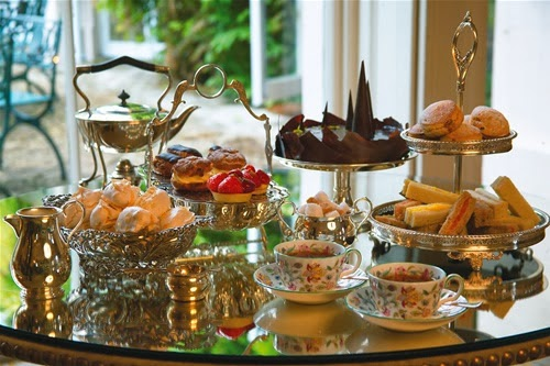 I love afternoon tea...