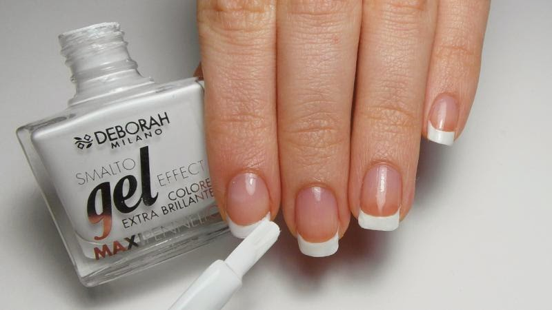 Nail Art Ideas - French Manicure Alternative