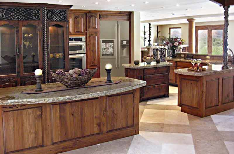 Wood kitchen design ideas for Unique kitchen designs