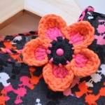 flower headband free crochet pattern