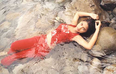 Tamil Actress Pooja Wet
