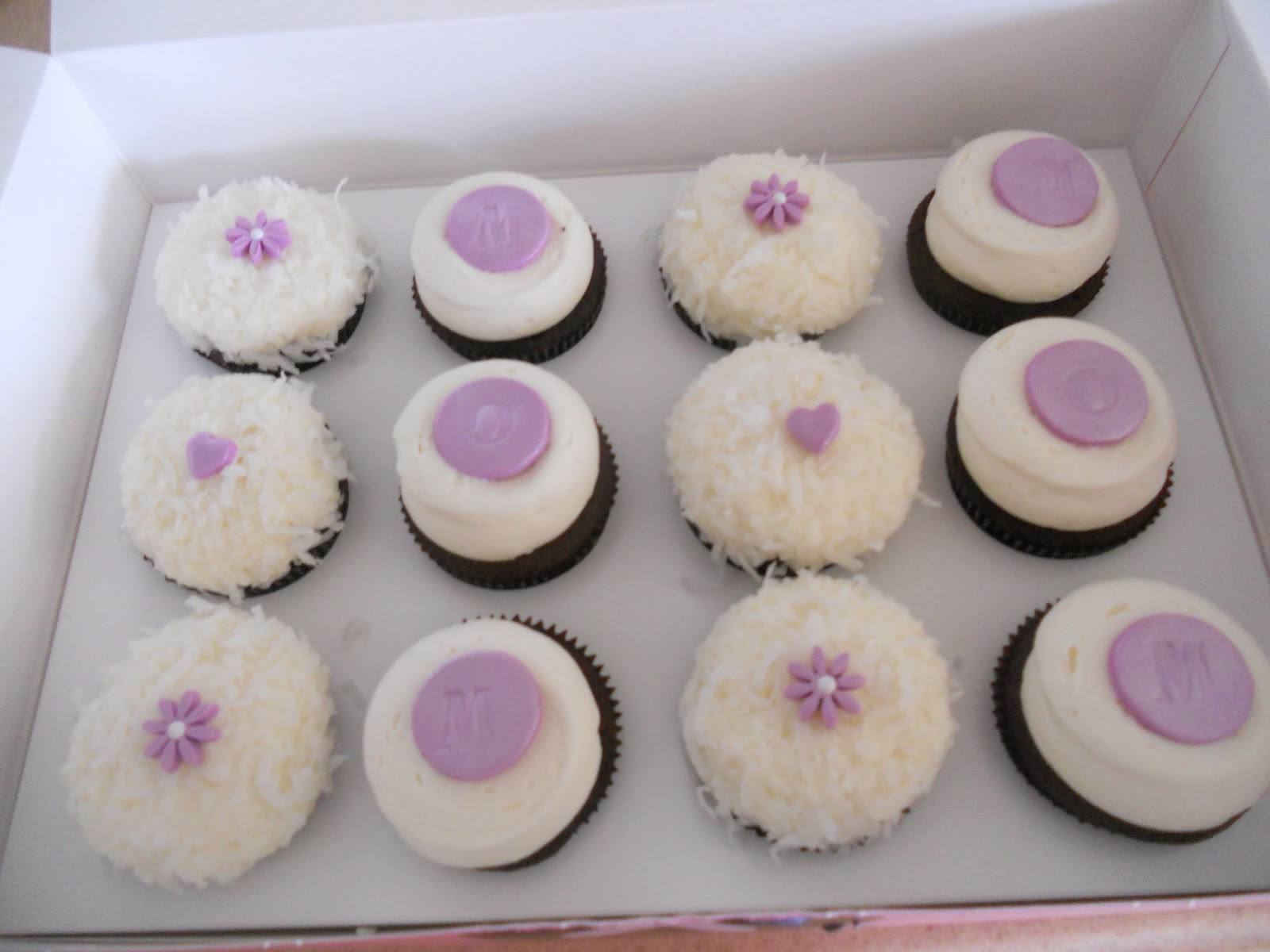Cup Cake Boxes Hawaiian