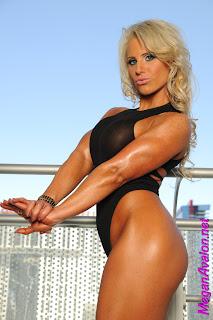 Megan Avalon fitness model