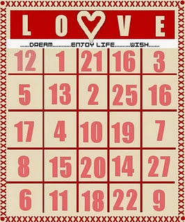 Free and Printable Valentine's Day Bingo Cards For Kids 3