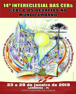 CARTAZ DO 14º INTERECLESIAL DAS CEB'S