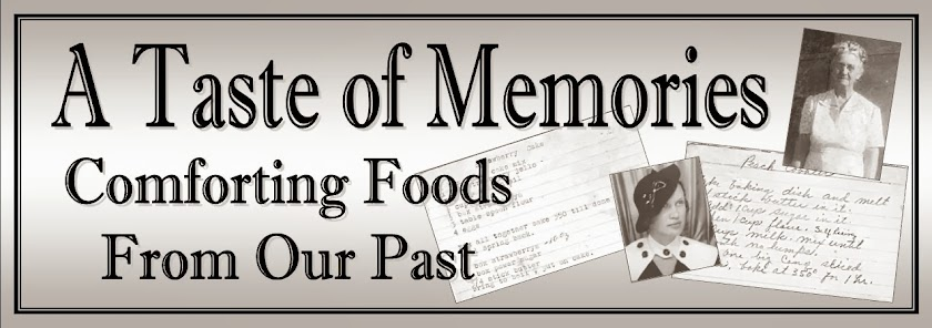 A Taste of Memories: Comforting Foods From Our Past