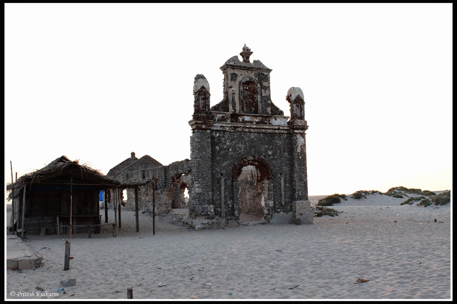 Church at Dhanushkodi village