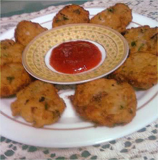 Bread Fritters