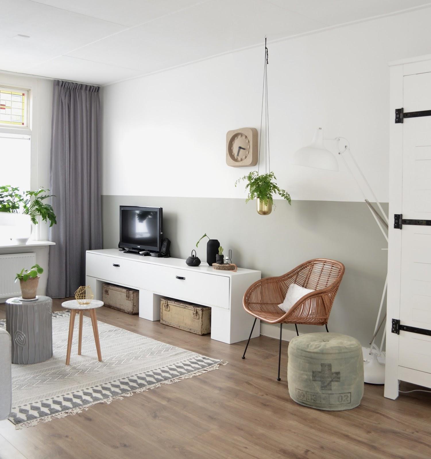 Veranderingen in de woonkamer for Woonkamer verven