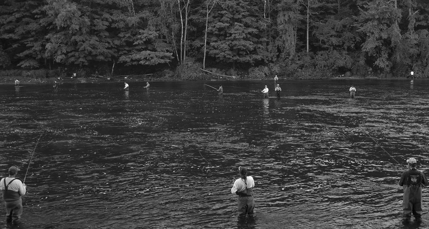 Geezer behind the lens last of manistee for Tippy dam fishing