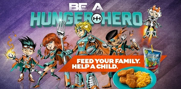 hunger hero campaign