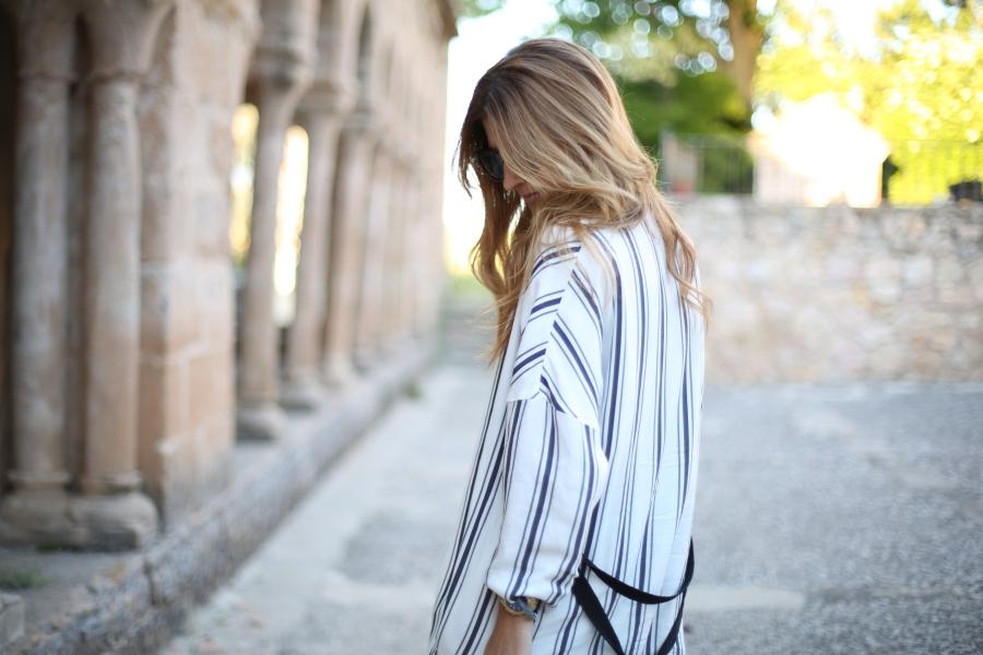 A trendy life. Kimono
