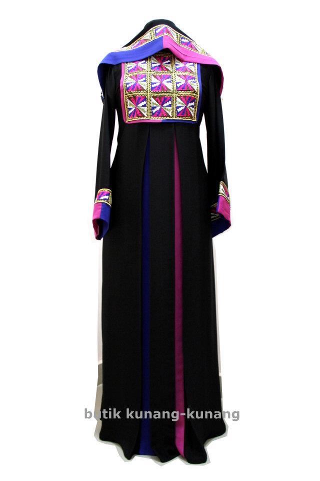 Butik Kunang-Kunang Abayat Qatar Abaya A033