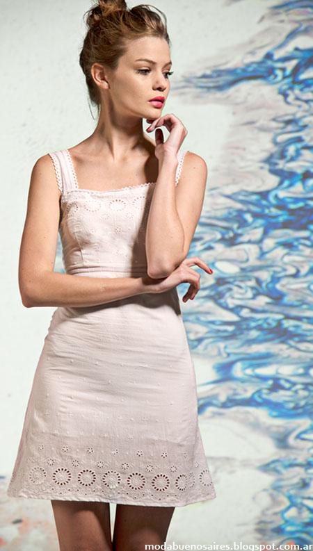 Moda 2015 Mancini vestidos.