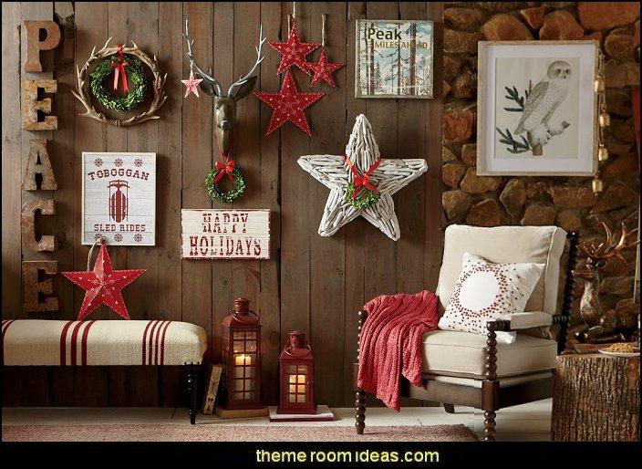 DecoratingThemeBedroomsMariesManorRusticChristmas