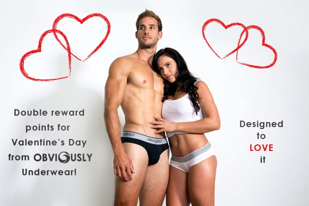 obviously underwear valentines day exclusive promotion