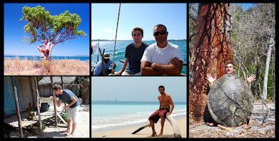 Crew sailing Madagascar