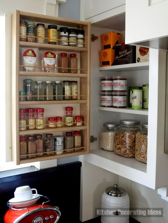 Spice Storage Ideas Mini Warehouse With Spices