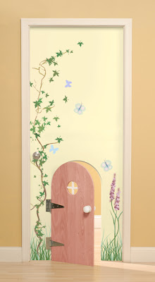 Как сделать украшения для дверей