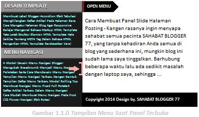 Panel slide image