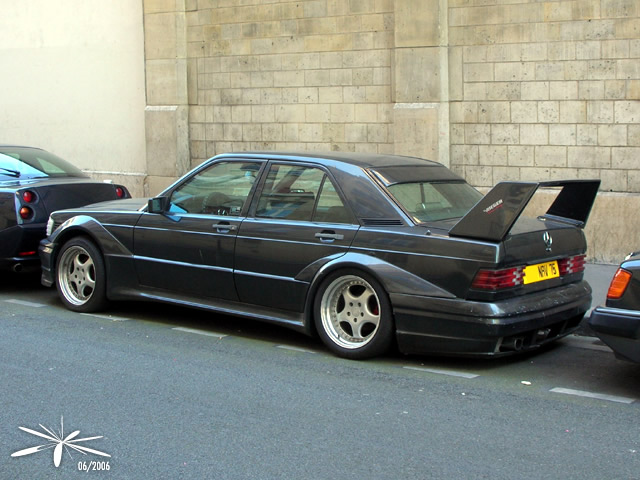 mercedes benz 190e wide body tuning benztuning. Black Bedroom Furniture Sets. Home Design Ideas