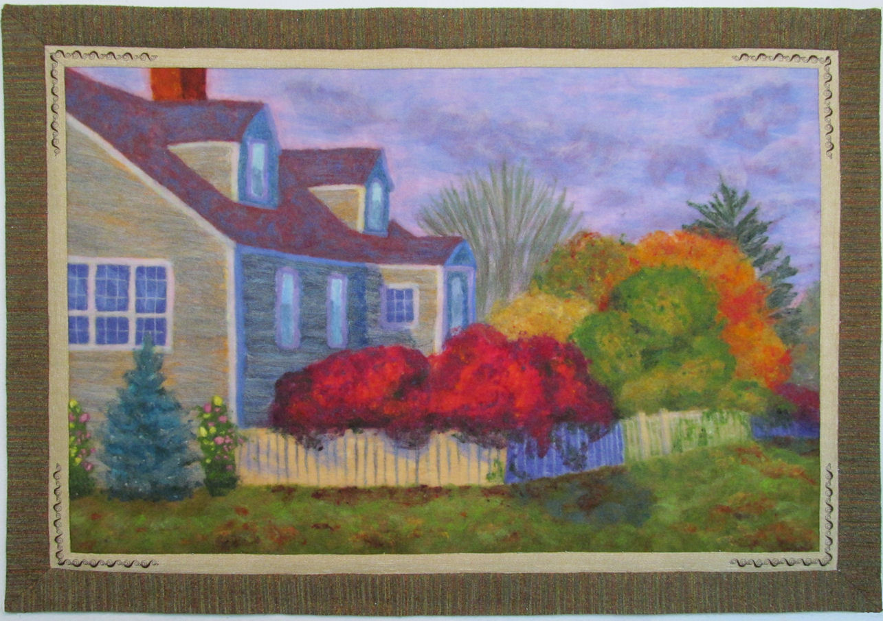Machine Needle Felting and Mixed Media Quilting