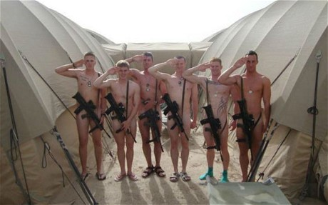 World Defense Review: Army anger as troops strip naked in support of ...: worlddefensereview.blogspot.com/2012/08/army-anger-as-troops-strip...