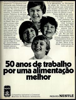 propagnada produtos Nestle - 1971. Reclame 1971;  os anos 70; propaganda na década de 70; reclame anos 70; Brazil in the 70s, história anos 70; Oswaldo Hernandez;